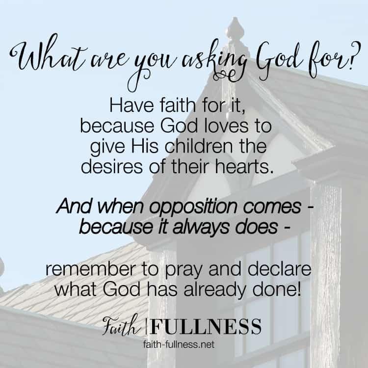A story of faith and God providing a home beyond our wildest dreams   Faith-Fullness.net