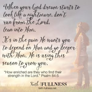 Walking in Obedience: What dreaming with God looks like, and the process He takes us through as we dream with Him | Faith-Fullness.net