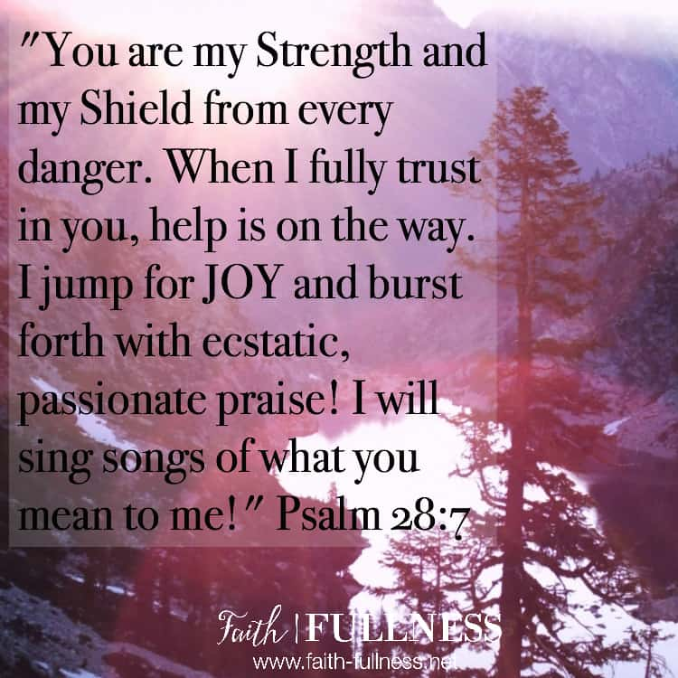 God has so much freedom and so much joy for you. He is calling us out of our place of suffering, into a place of JOY and we are not alone because the joy of the Lord is our strength! | Faith-Fullness.net