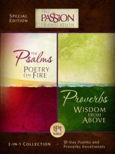 The Passion Translation Psalms and Proverbs